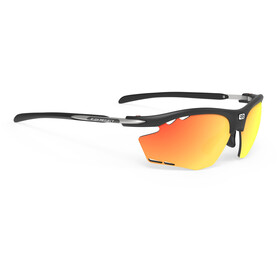 Rudy Project Rydon Okulary rowerowe, matte black/multilaser orange